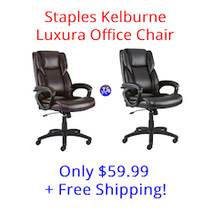 super popular c8162 b489d Staples Kelburne Luxura Office Chair Now Only $59.99 Shipped ...